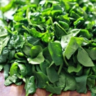 Рецепт Стейк с грибным соусом и сливочным шпинатом