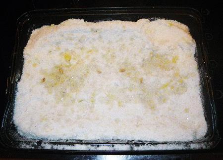 Запеченный судак в соли - фото шаг 2