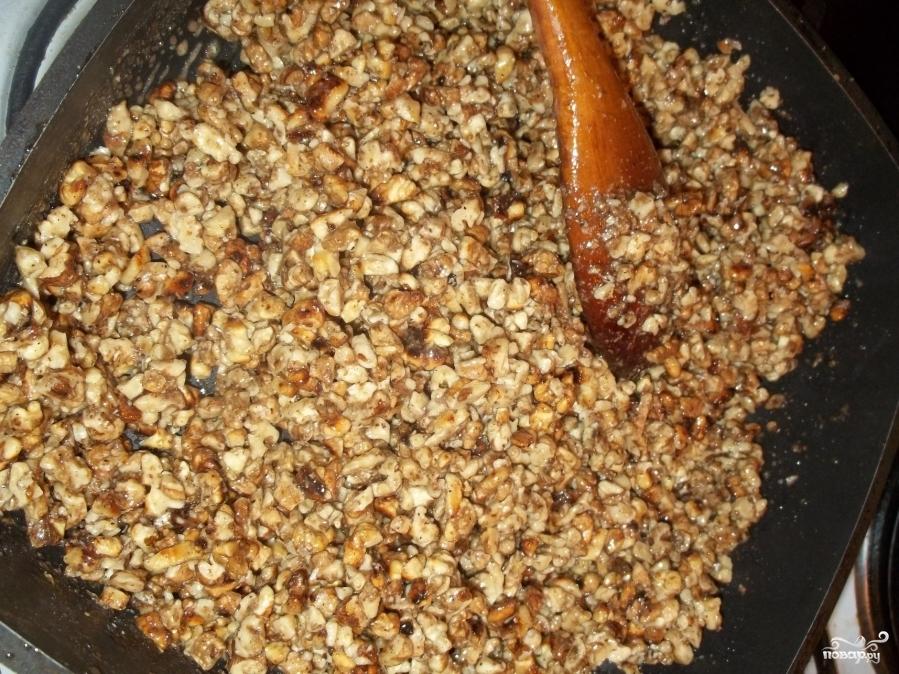 Ореховые козинаки - фото шаг 6