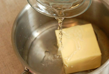 Заварное тесто с творожным кремом - фото шаг 1