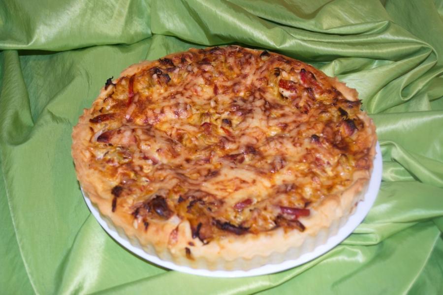 Пирог с капустой и овощами - фото шаг 9