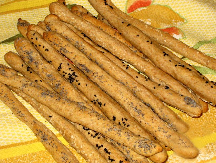 Хлебные палочки - фото шаг 5