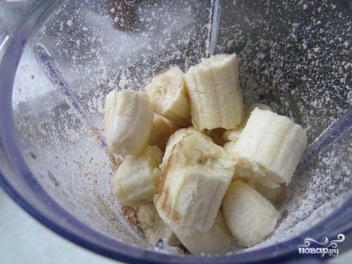 Постный пирог с бананами - фото шаг 2