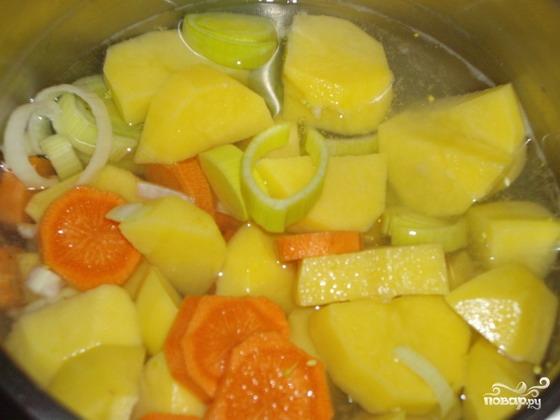 Итальянский овощной суп - фото шаг 3