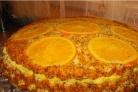 Торт апельсиновый с маком