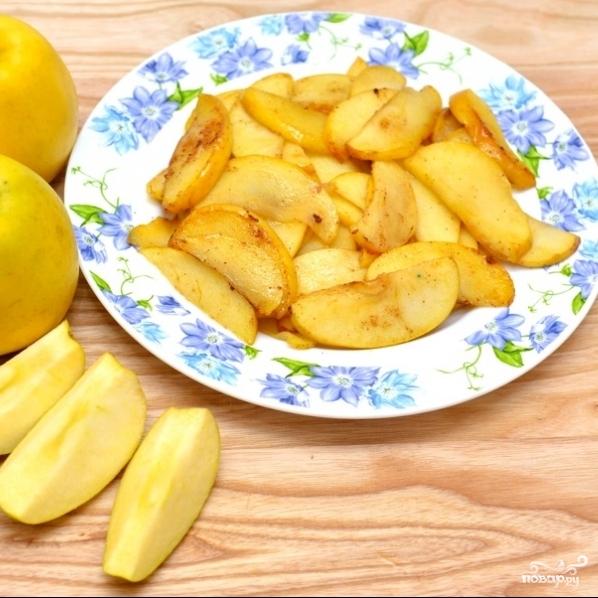 Жареные яблоки - фото шаг 6