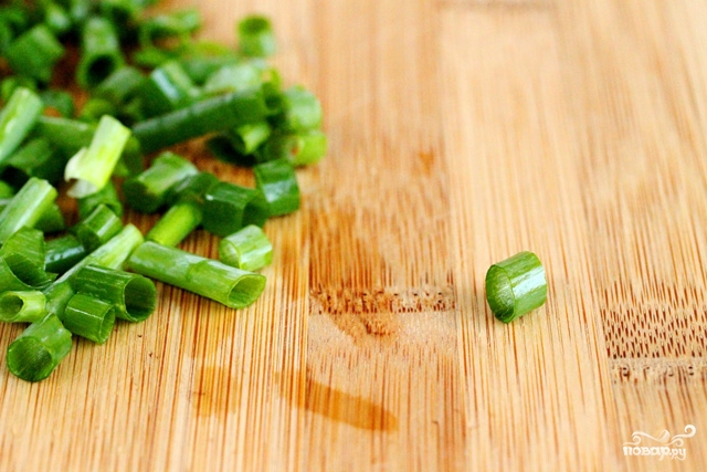 Салат из шпината и персиков - фото шаг 8
