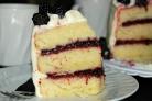Пирог с ягодным джемом