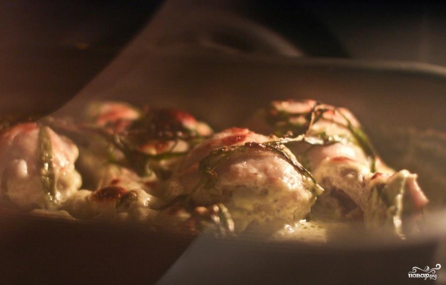 Сливочная курица с тархуном - фото шаг 6