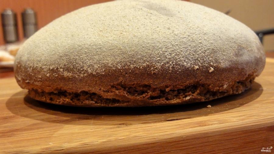 Постный хлеб без дрожжей - фото шаг 9