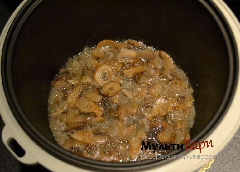 Рецепт Грибной суп пюре в мультиварке