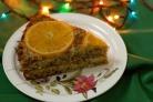 Апельсиновый торт с маком