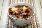 Суп из грибов лисичек