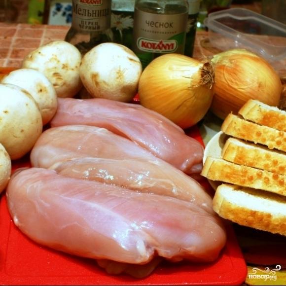 Рецепт Котлеты из курицы и шампиньонов
