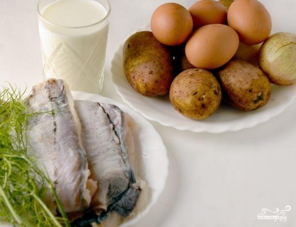 Рецепт Картофель с рыбой в мультиварке