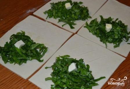 Пирожки со щавелем в духовке - фото шаг 6