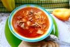 Суп из баранины с лапшой