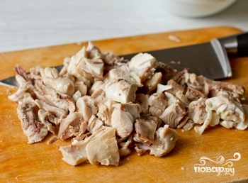 Итальянский суп с курицей - фото шаг 4