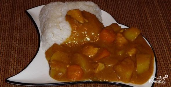 Карри с рисом по-японски
