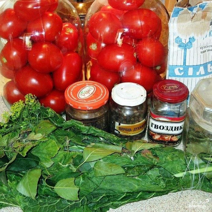 Рецепт Помидоры квашеные