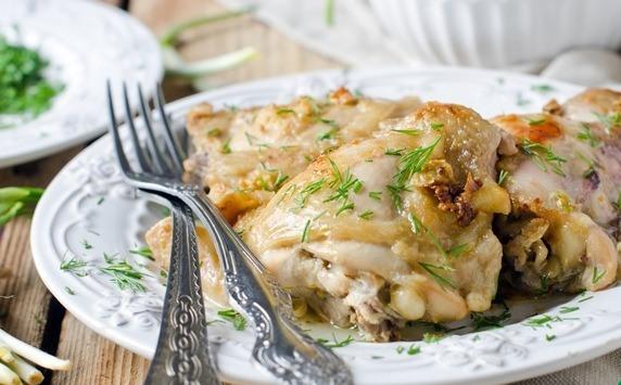 Курица в кефирном соусе - фото шаг 6