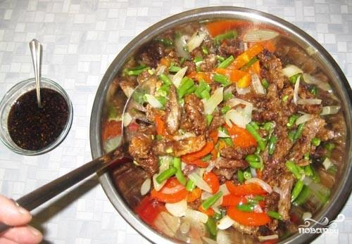 Говядина по-китайски с овощами - фото шаг 16