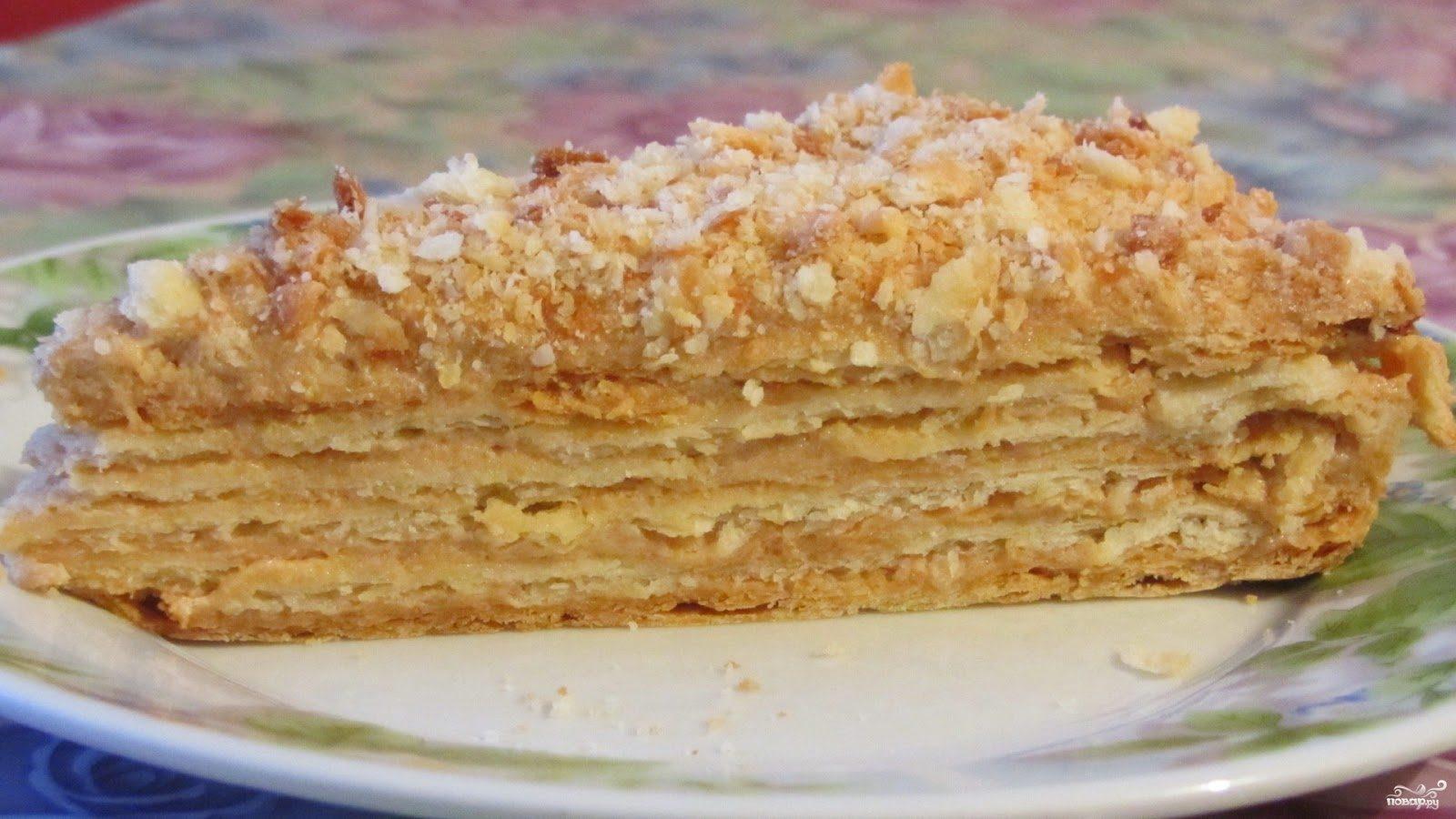 Домашний торт наполеон рецепты с пошагово
