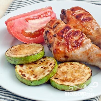 Куриные голени в имбирном маринаде - фото шаг 5