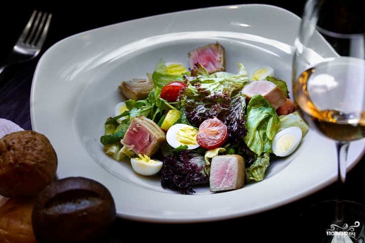 салат из тунца пошаговый рецепт с фото