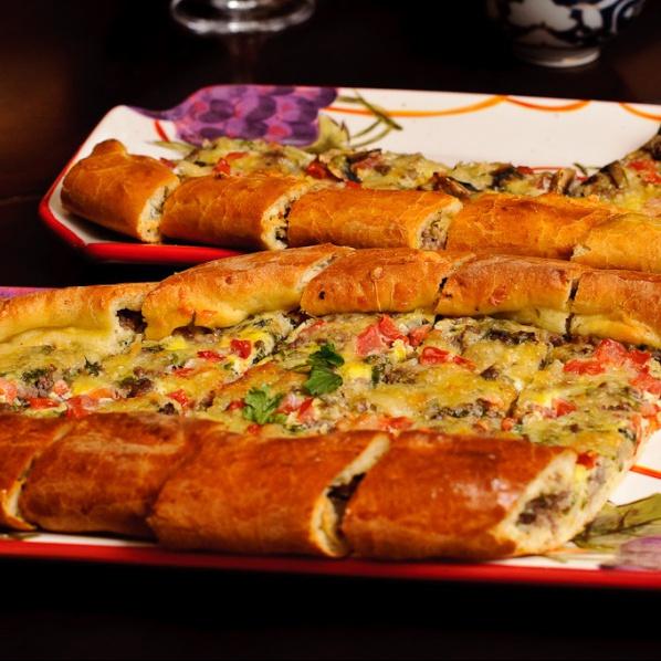 "Турецкая пицца ""Пайд"" - фото шаг 14"