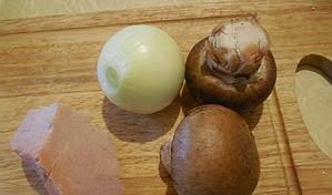 Рецепт Котлеты с грибами в духовке