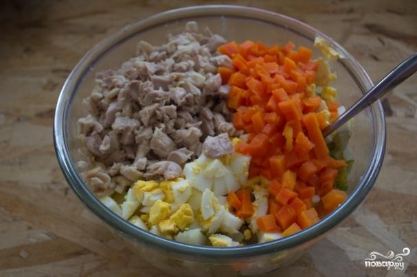 Куриные кубики домашнего приготовления - Поварёнок ру