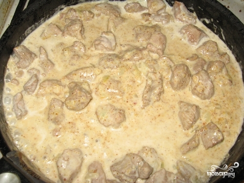 Индейка в горчичном соусе - фото шаг 4