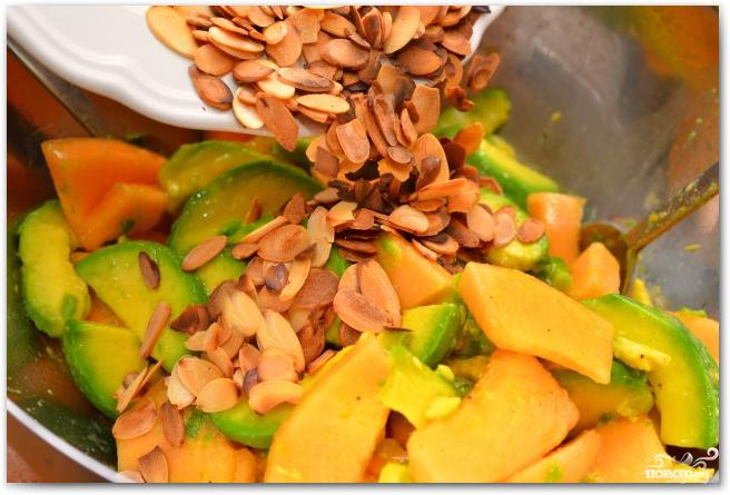 Салат из дыни и авокадо - фото шаг 7