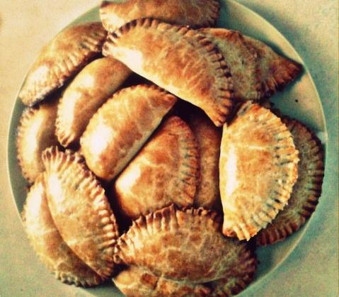 Пирожки из ржаной муки - фото шаг 9