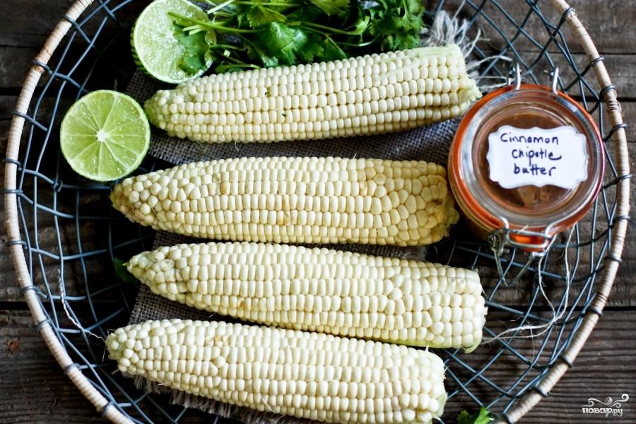 Рецепт Кукуруза на гриле