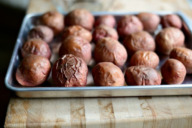 Салат с запеченным картофелем - фото шаг 2