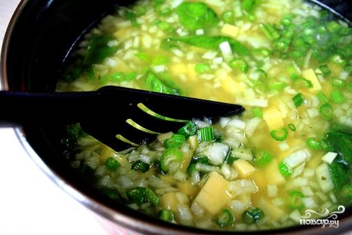 Сельдереевый суп - фото шаг 8