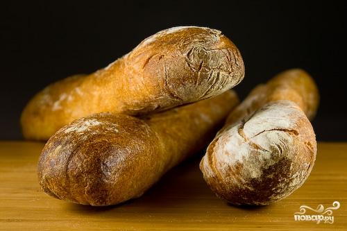 Рецепт Багет в хлебопечке