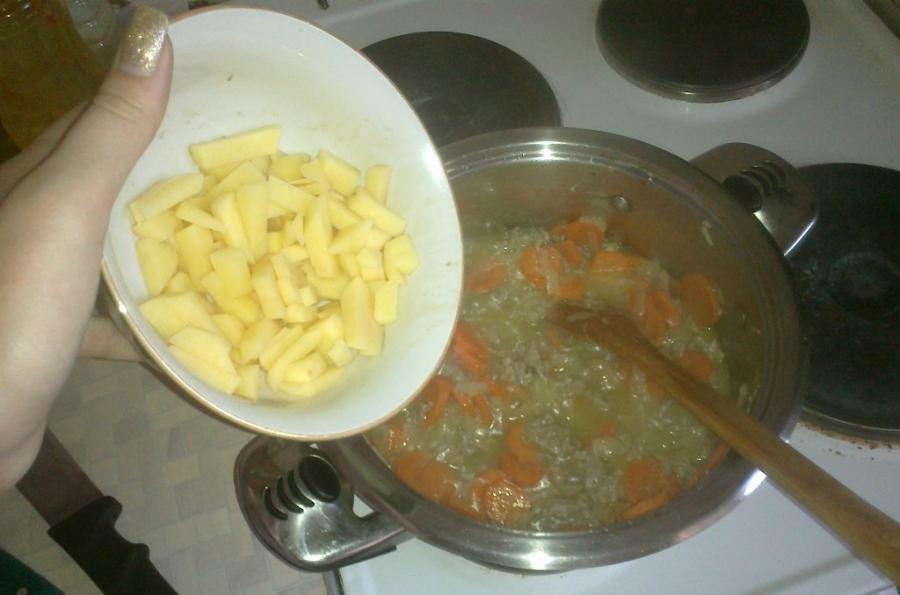 Рагу с фаршем и овощами - фото шаг 3