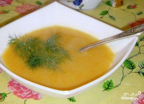 суп пюре для похудения рецепт с фото