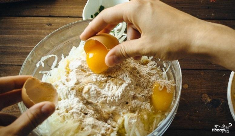Сырная запеканка в духовке - фото шаг 3