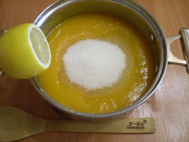 Джем из тыквы с лимоном - фото шаг 5