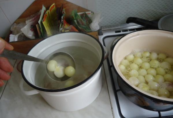 Рецепт Маринованный репчатый лук на зиму