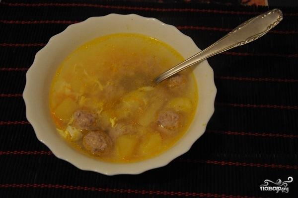 рецепт классического супа с фрикадельками