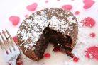 Шоколадный мини-пирог
