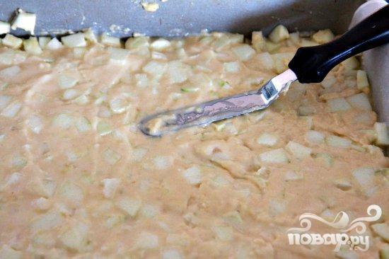 Яблочный пирог с имбирем и корицей - фото шаг 7
