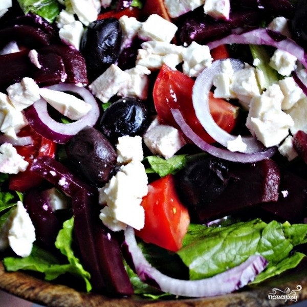 Заправка для греческого салата - фото шаг 6