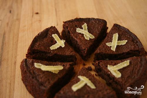 Шоколадные пирожные с имбирем