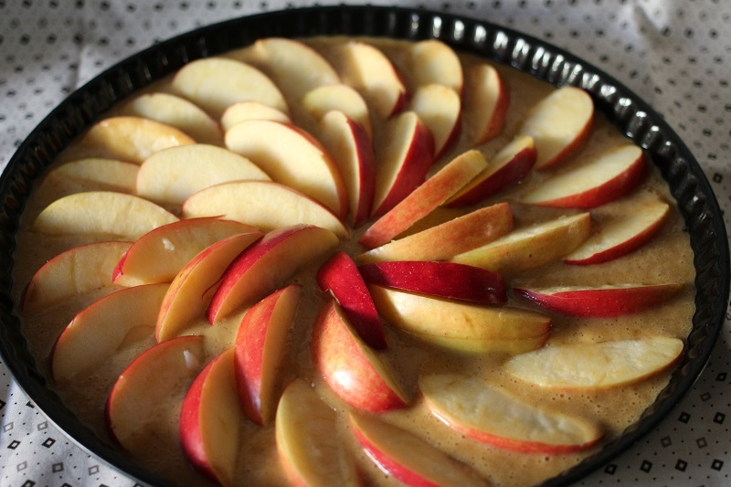 "Яблочный пирог ""Калейдоскоп"" - фото шаг 6"